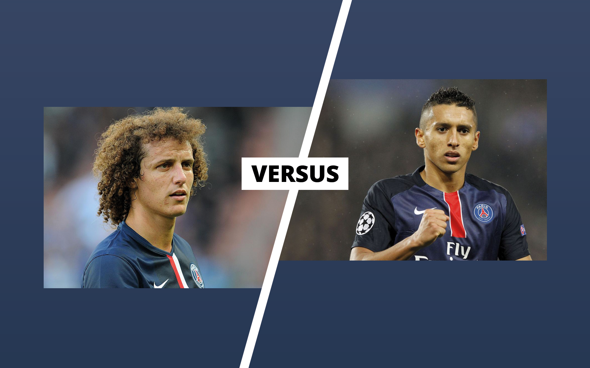 Battle #1 – David Luiz vs Marquinhos