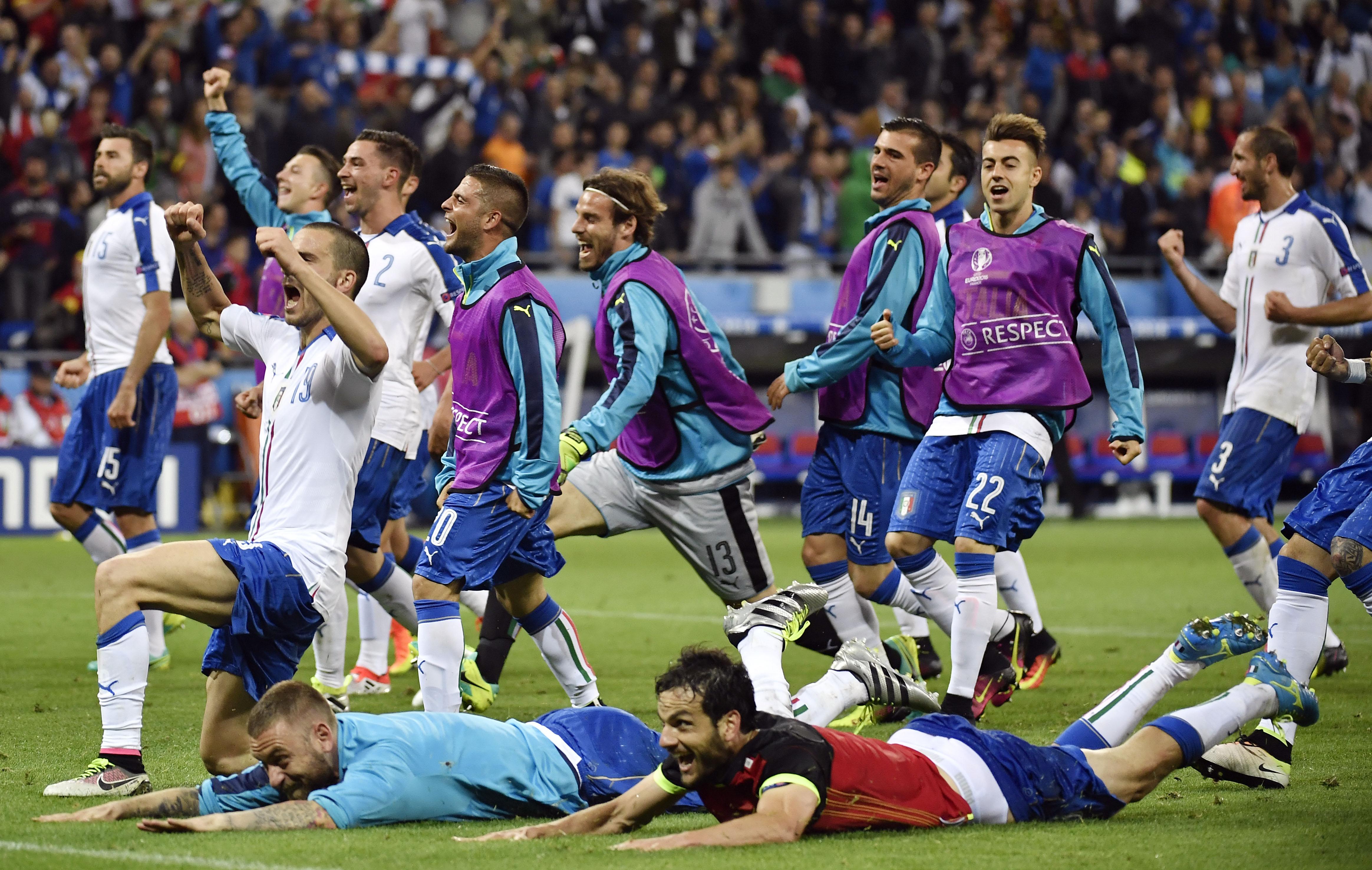 Italie – Belgique (2-0) : Les notes