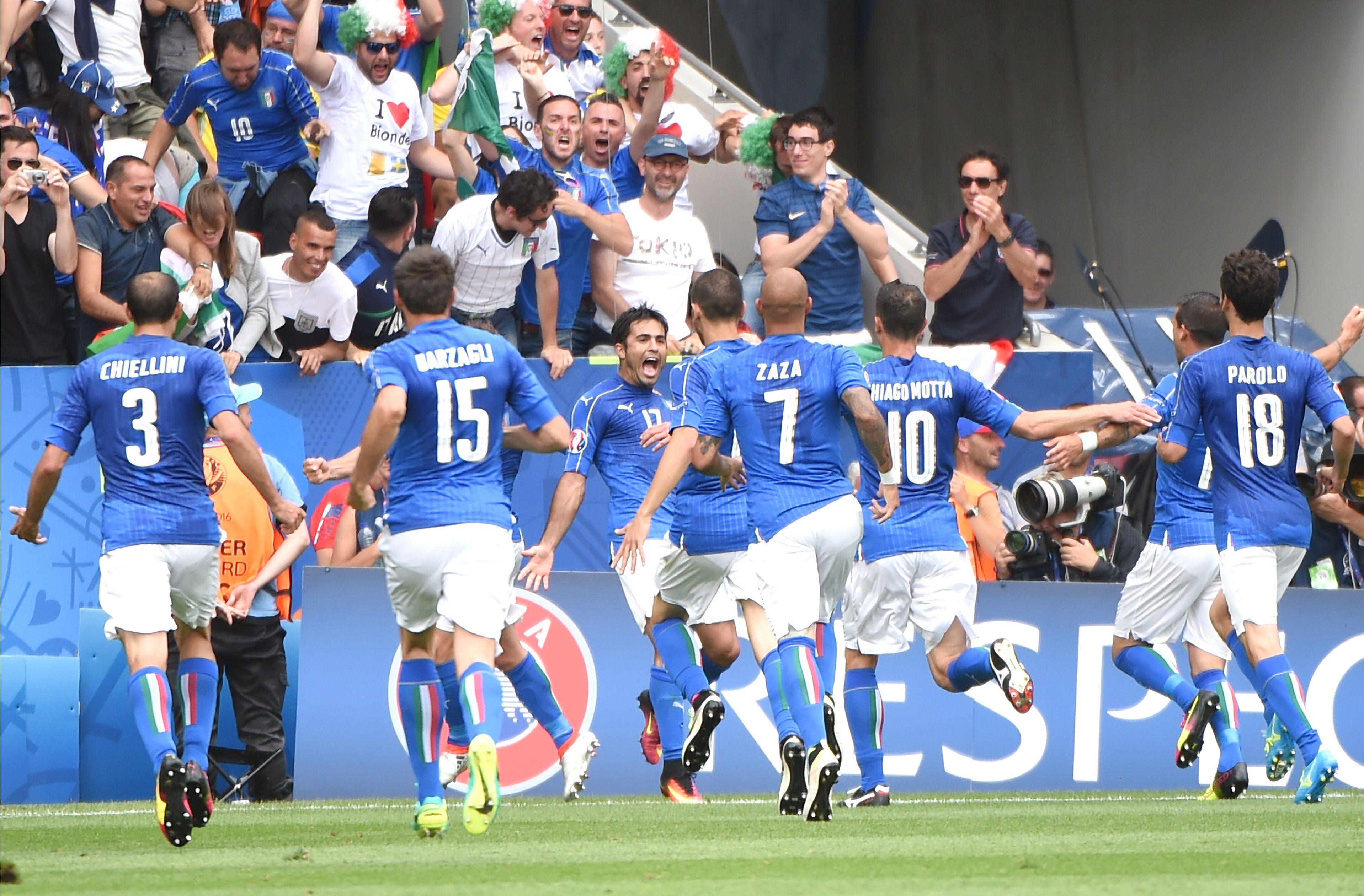 Italie – Suède (1-0) : Les Notes