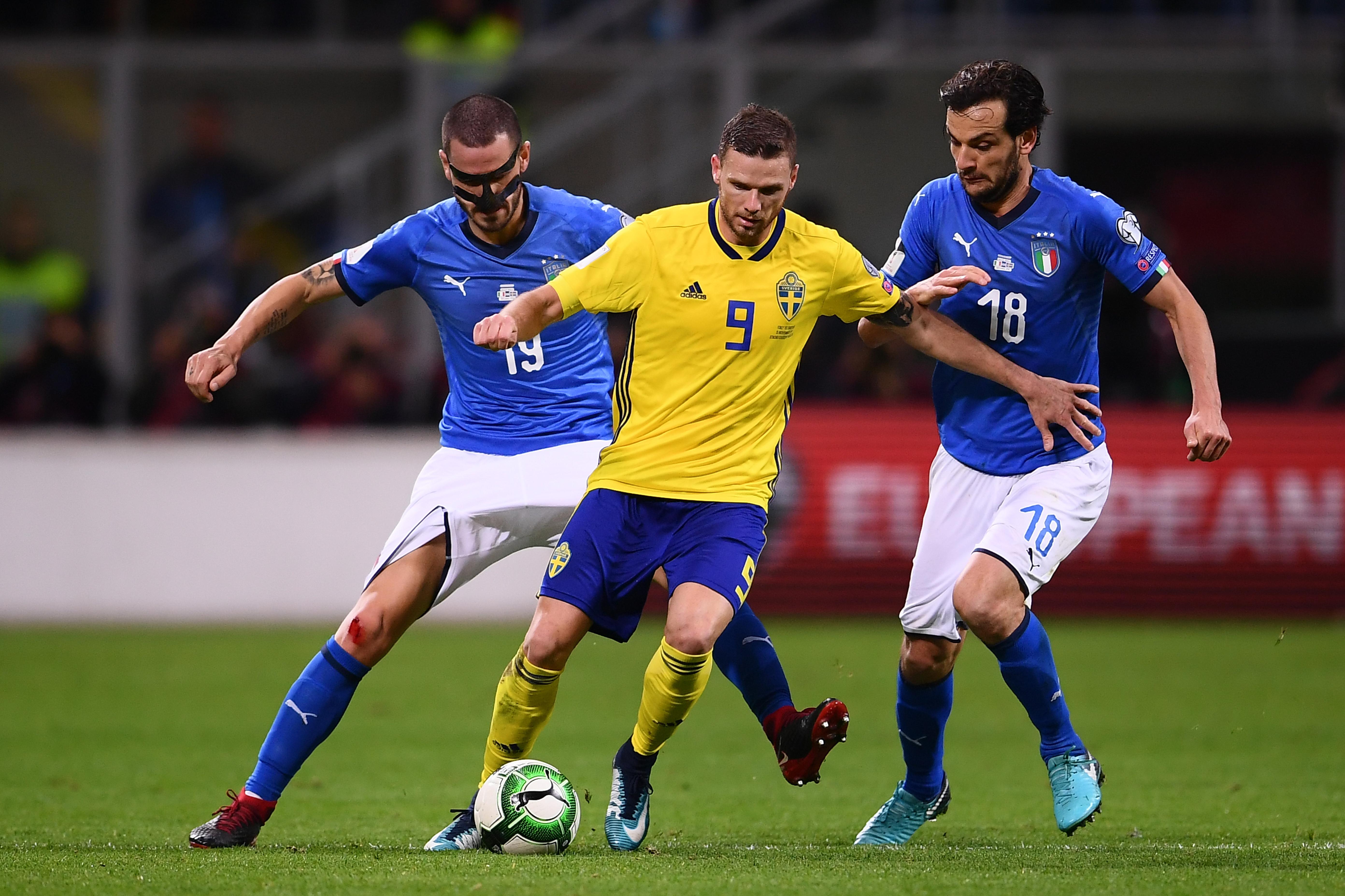 [Qualif. Coupe du Monde] Italie – Suède : les notes