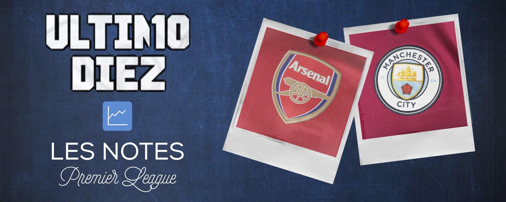 [Premier League] Arsenal – Manchester City : les notes