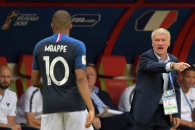 sélection nationale Mbappé Deschamps