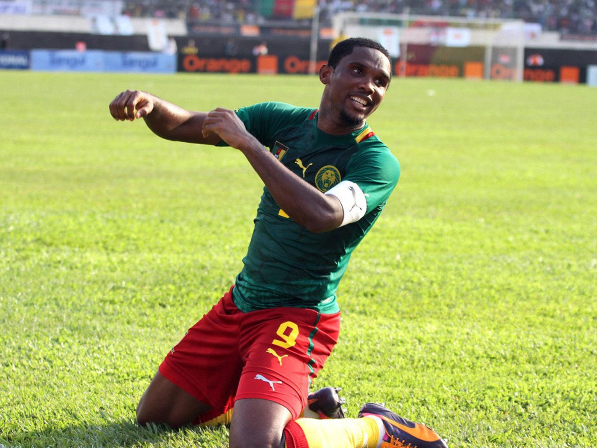 Cameroon-Etoo