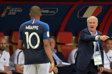 sélection nationale Mbappé Deschamps